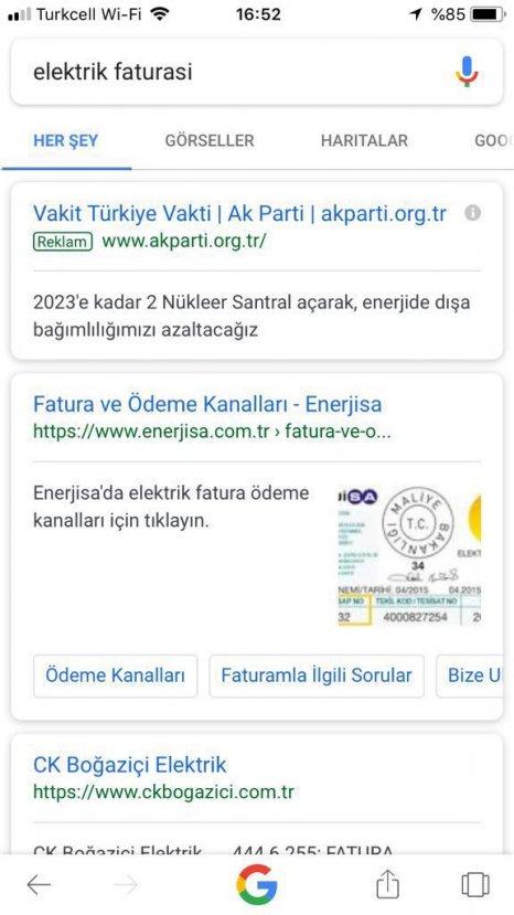 AK Parti'den Google hamlesi