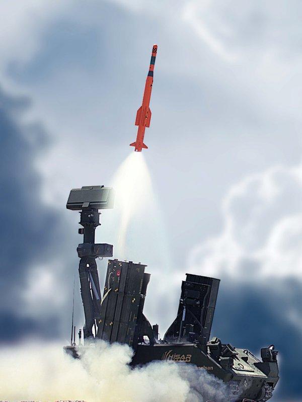 HİSAR-A'nın test atışı yapıldı