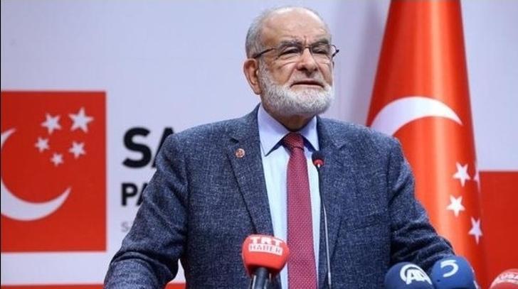Karamollaoğlu seçim barajının düşmesinden yana