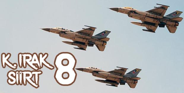 Kuzey Irak ve Siirt'te 8 terörist öldürüldü