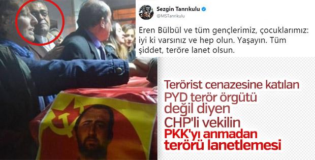 CHP'li Sezgin Tanrıkulu'nun tepki çeken Eren paylaşımı