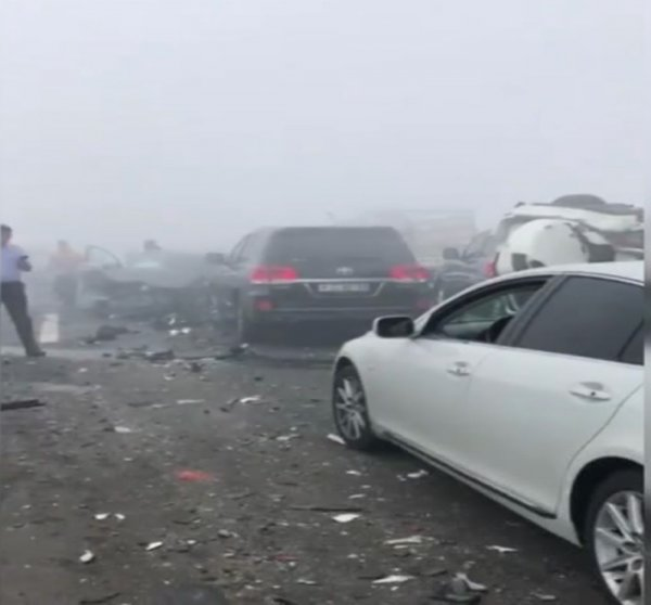 Abu Dabi'de sis etkili oldu