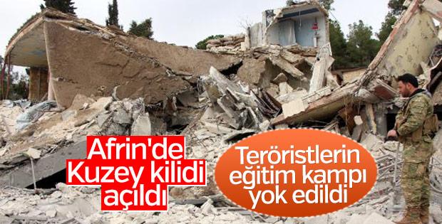 Afrin'e giden yolda Kuzey kilidi açıldı