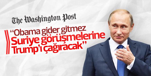 Washington Post: Trump Astana görüşmelerine çağırıldı