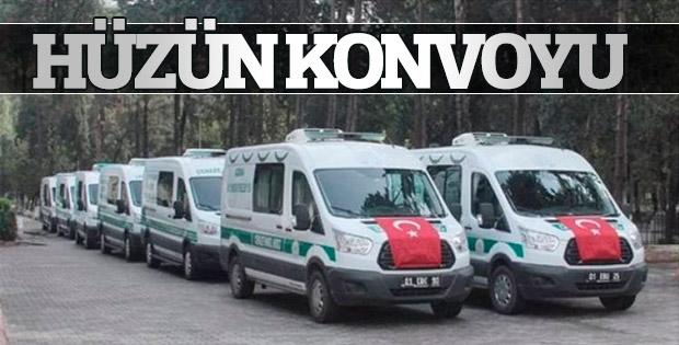 Adana'da yangında ölenlerin cenazeleri morgdan çıktı