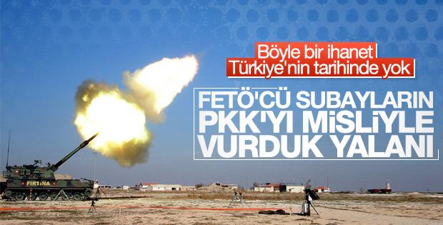 FETÖ'cülerin PKK'yı misliyle vurduk yalanı