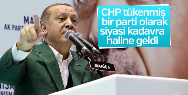 Cumhurbaşkanı'ndan CHP'ye tepki