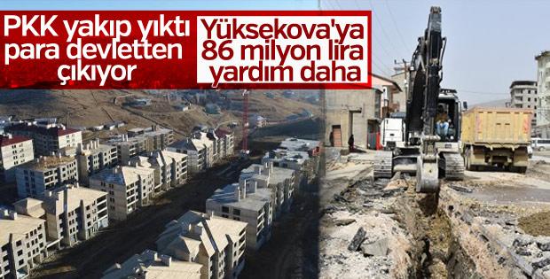 Yüksekova'da terörün yaraları sarılıyor