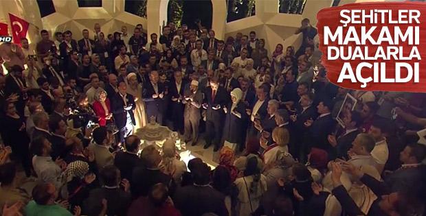 İstanbul'da Şehitler Makamı dualarla açıldı