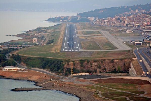 Trabzonlu inşaat mühendisleri yeni havalimanı istiyor