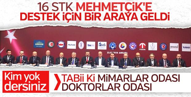 STK'lardan Zeytin Dalı Harekatı'na tam destek