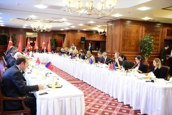Kılıçdaroğlu, AB üyesi ülkelerin büyükelçileriyle görüştü