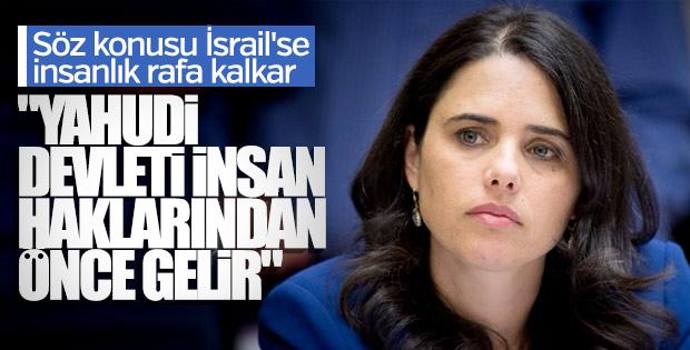 İsrailli bakan: Yahudi devleti insan haklarından önce gelir