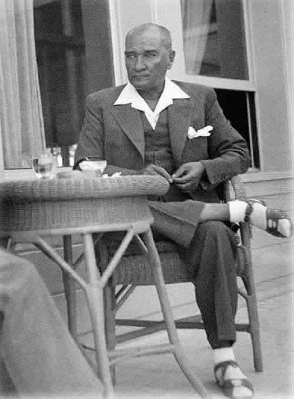 Atatürk'ün ilk kez yayınlanan fotoğrafı