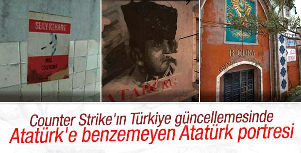 Counter Strike'ın Türkiye güncellemesine Atatürk tepkisi