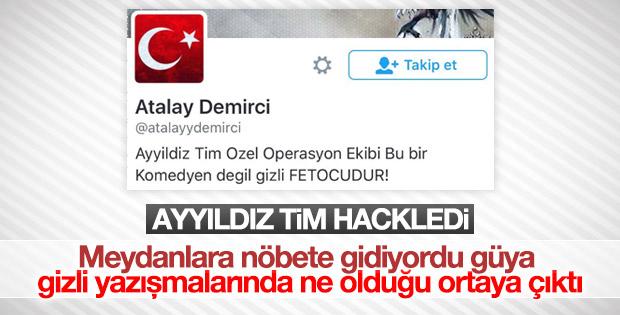 Atalay Demirci'nin Twitter hesabı hacklendi