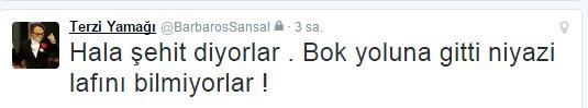 Barbaros Şansal Türk halkına hakaretler yağdırdı