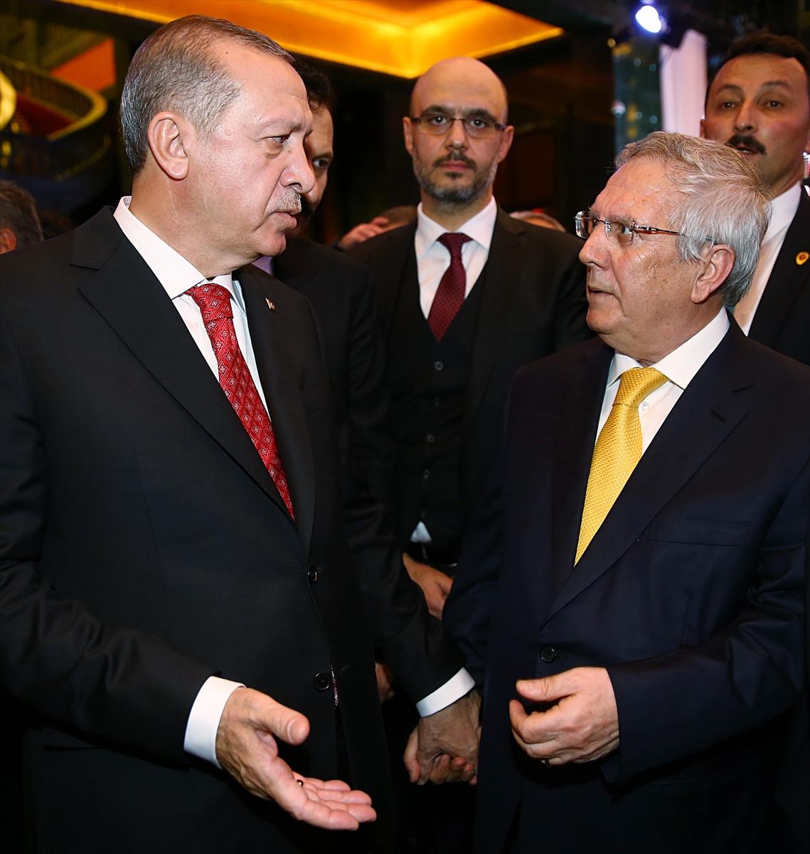 Erdoğan-Aziz Yıldırım görüşmesi
