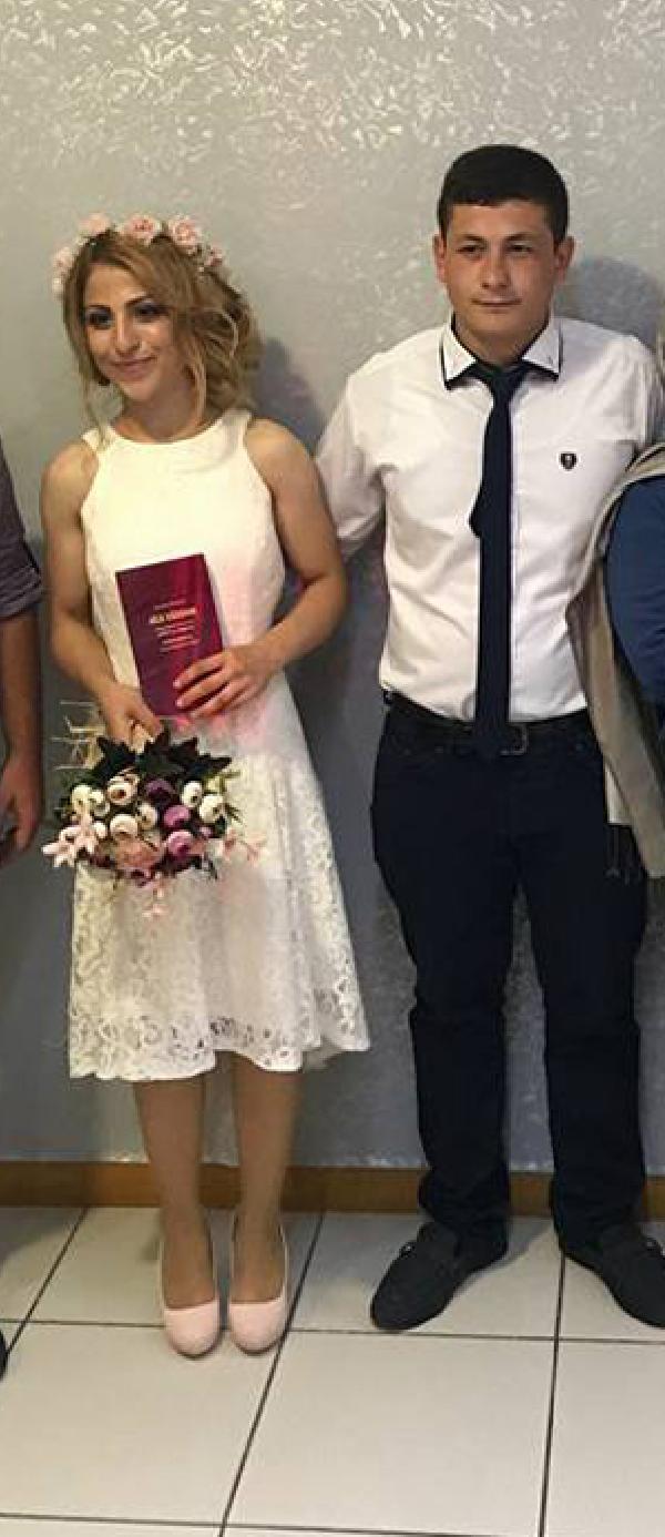 Düğün günü eşini öldürdü