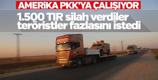 YPG ABD'nin kaç TIR silah gönderdiğini söyleyemiyor