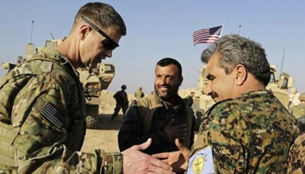 ABD askerlerinin Münbiç fotoğrafının koordinatları