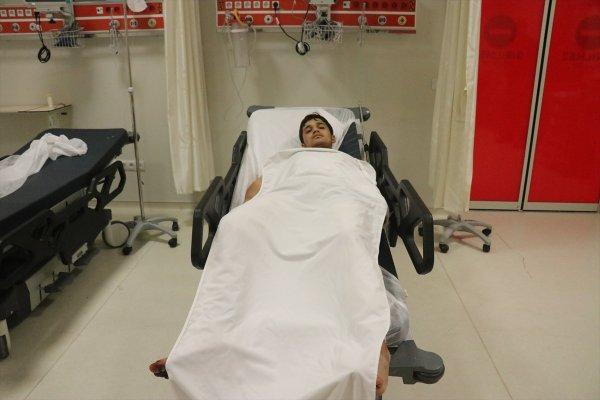 Afrin'de bir terörist yakalandı