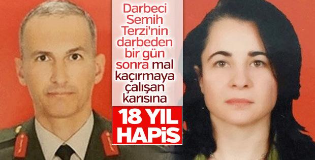 Semih Terzi'nin eşine hapis cezası