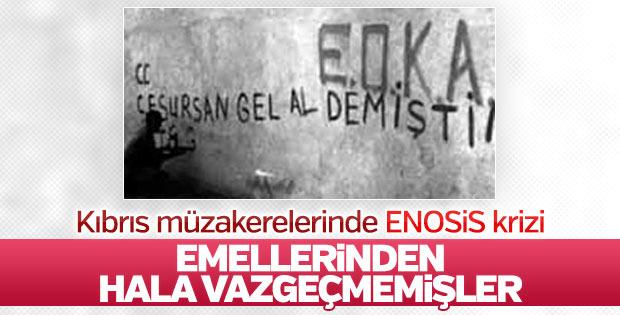 Bakan Çavuşoğlu'ndan ENOSİS kararına tepki