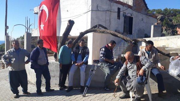 Donarak şehit olan askerlerin ateşi Mersin'e düştü