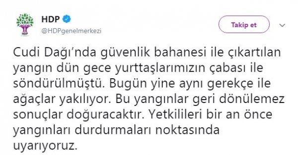 HDP terör operasyonunu engellemeye çalışıyor