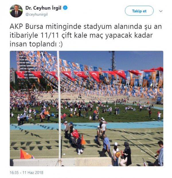 CHP'li vekilin Erdoğan hayali