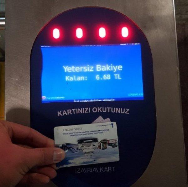 İzmir'de İZBAN isyanı