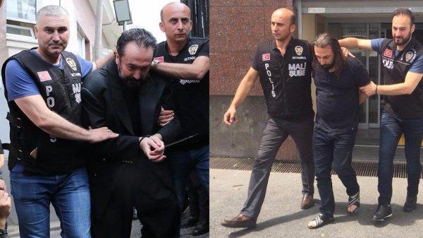 Polisi tehdit eden Adnan Oktar hayranı yakalandı
