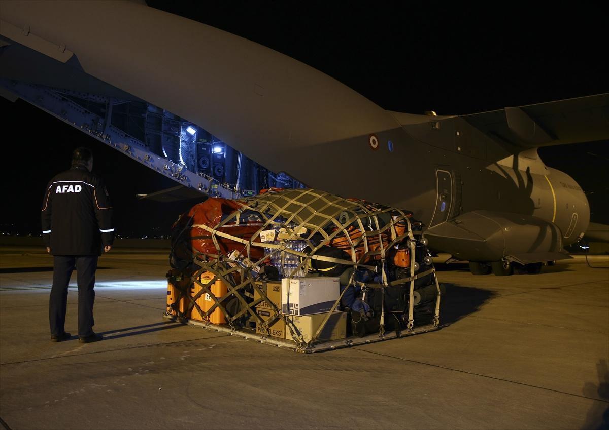 TSK, Irak'taki deprem için harekete geçti
