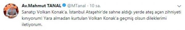 Volkan Konak: Olayın bizimle alakası yok