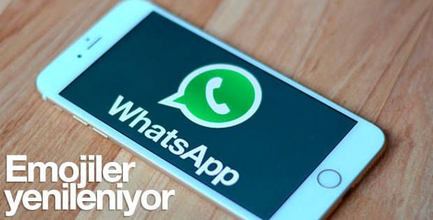 WhatsApp'ta emojiler yenileniyor