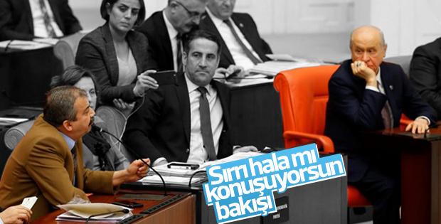 Sırrı Süreyya Önder'in konuşmasında Devlet Bahçeli bakışı
