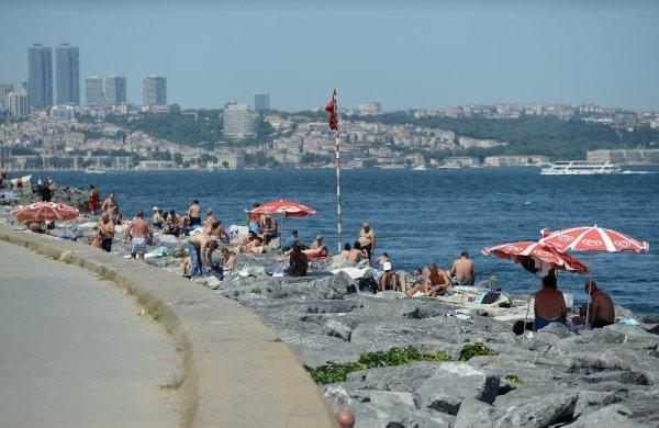 İstanbul'da deniz keyfi