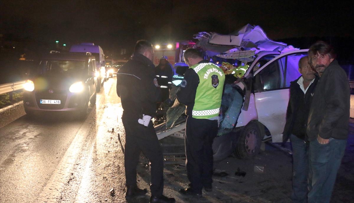 Kartal'da trafik kazası: 1 ölü, 1 yaralı
