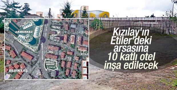 Akmerkez'e komşu 10 katlı otel inşa edilecek