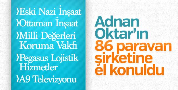 Adnan Oktar'ın el konulan şirketleri