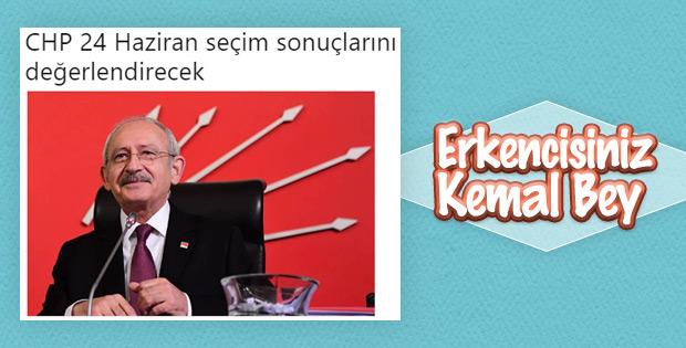 Kılıçdaroğlu 24 Haziran seçim sonuçlarını değerlendirecek
