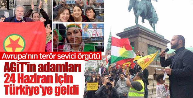 Terör sevici AGİT seçimleri izlemek için Türkiye'de