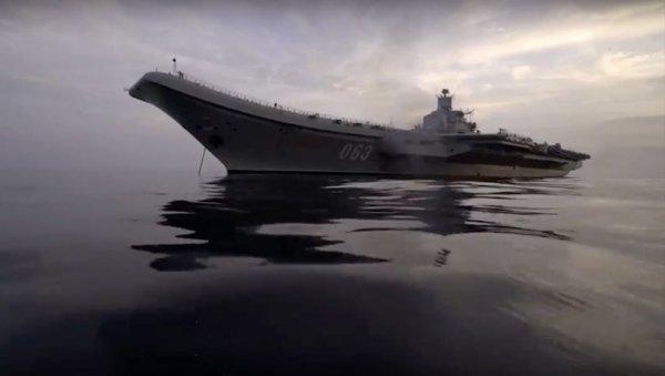 Akdeniz'de Rusya ve ABD donanma yığını
