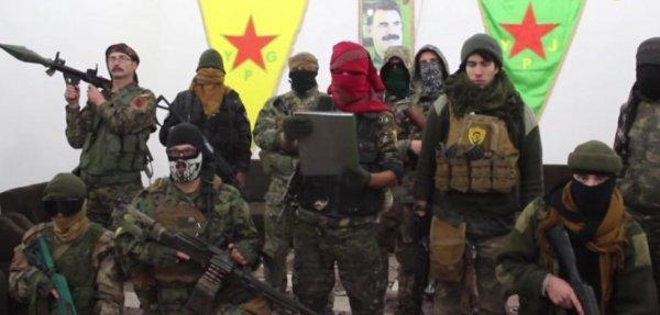 Alman Bild terörist YPG'yi güzelliyor