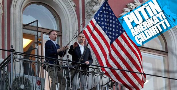 ABD Rusya'dan bayrağını indirdi