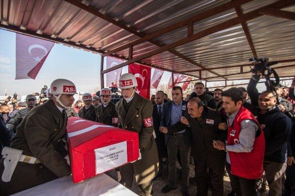 Fırat kalkanı gazisi Zeytin Dalı'nda şehit düştü