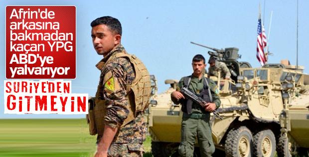 PYD ABD'nin Suriye'den çıkmasını istemiyor