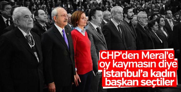 CHP İstanbul İl Başkanlığına Canan Kaftancıoğlu seçildi