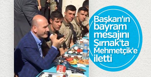 Başkan Erdoğan Kato Dağı'ndaki askerlere seslendi